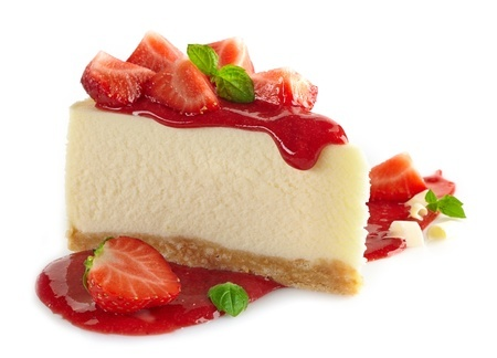 Strawberry cheesecake with Greek Yogurt